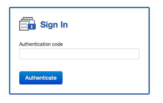 Sign in with 2FA