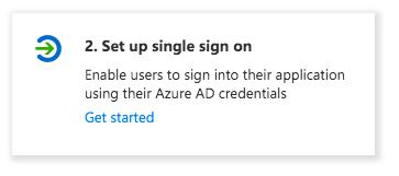 Azure AD Setup Single Sign On