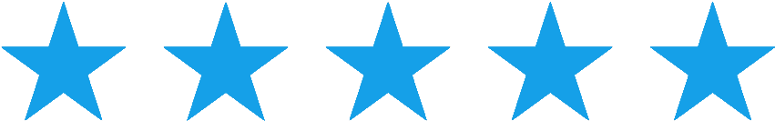 5 stars testimonial